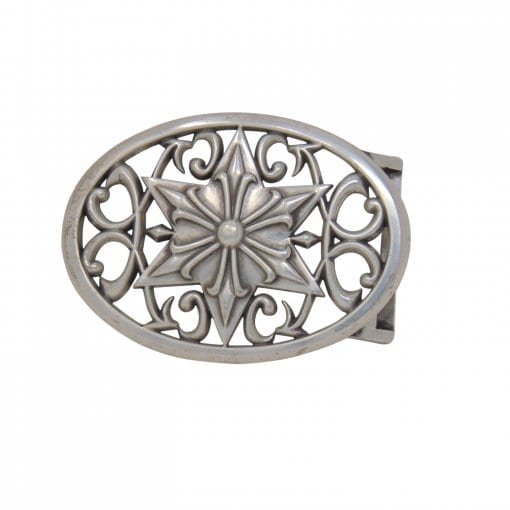 Detachable ornate belt buckle