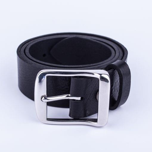Mens black belt for jeans
