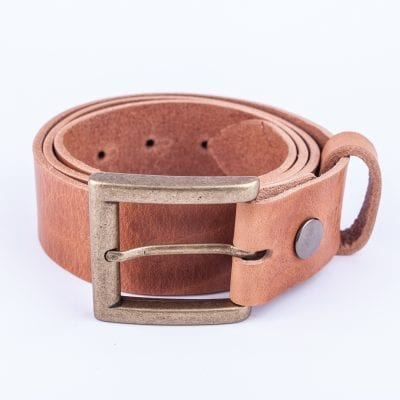 Mens tan belt for jeans