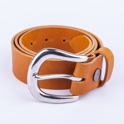 Ladies yellow belt for jeans