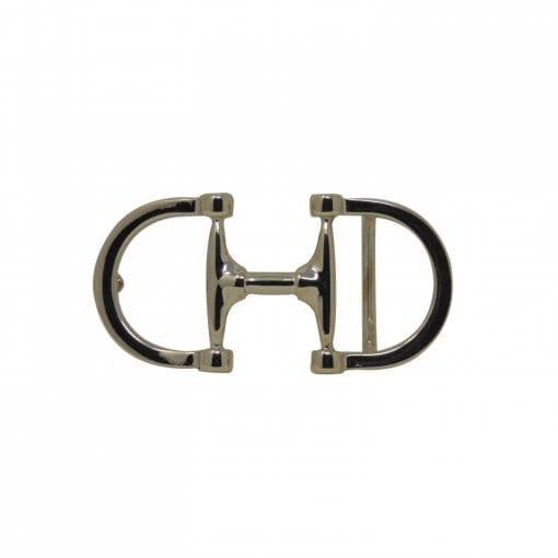 Horsebit belt buckle