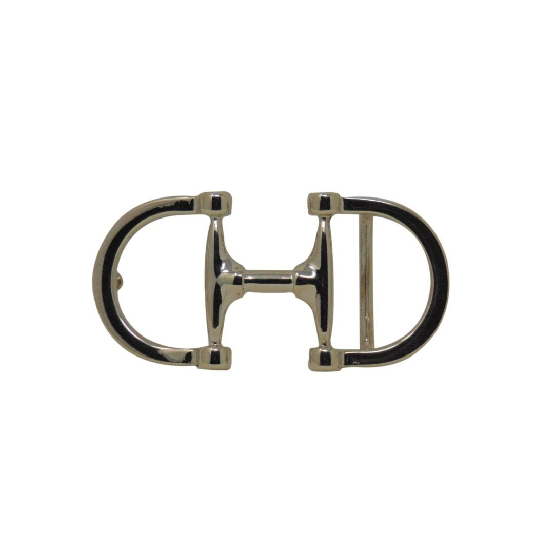 Horsebit belt buckle