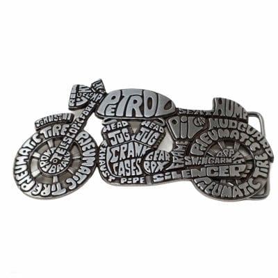 Motorbike belt buckle