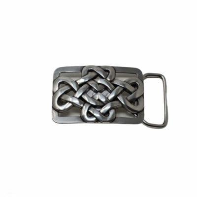 Love knot belt buckle