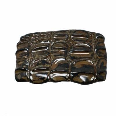 Crocodile belt buckle
