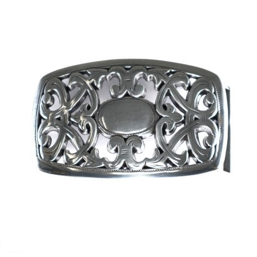 An unusual and unique belt buckle