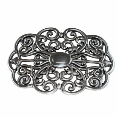 A unique decorative belt buckle