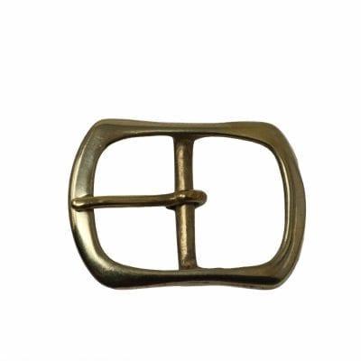 Brass belt buckle