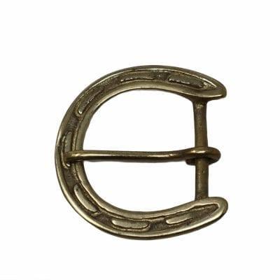 horseshoe belt buckle